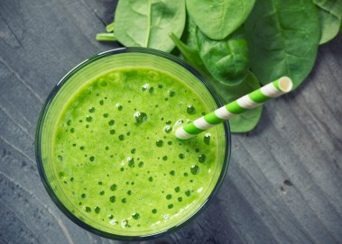 green smoothie to burn fat and boost energy